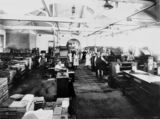 Picture of / about 'Brisbane' Queensland - Linotype department, Government Printing Office, Brisbane, 1921