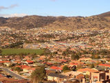 Picture relating to Banks - titled 'Banks - suburb in a valley'