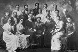 Picture relating to Coorparoo - titled 'Ladies' Committee, Queen Alexandra Home, Coorparoo, Brisbane, Queensland, 1913'