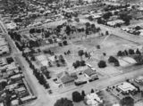 Picture relating to Warwick - titled 'Aerial view of Warwick, 1932'